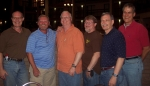 From left: Steve Hill, John Peterson, Doug Egner, Ron Dugger, Calvin Gooden, Bill Siebert